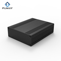 82.8*28.8-100 small aluminum electronic box for outside use project enclosure case pcb chassis