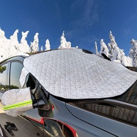 new design car snow shade car windshield protector snow cover with rear view mirror cover