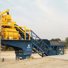 Ready Hot Selling Advanced YHZS75 75M3/h Mobile Ready Mixed Cement Concrete Batching Plant