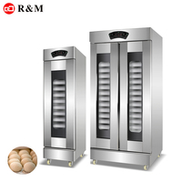 Electric fermentation Box bread proofing machine dough proofer with traye dough proofer trays