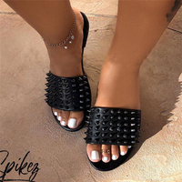 Wholesale popular shoes for women summer good quality female slippers flat shoes women sandals