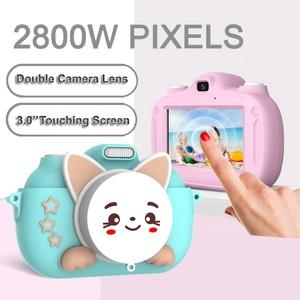 Popular 3.0 Inch HD Touching screeen WIFI Video Camera Cute Toy 28MP HD Digital Kids Camera With USB