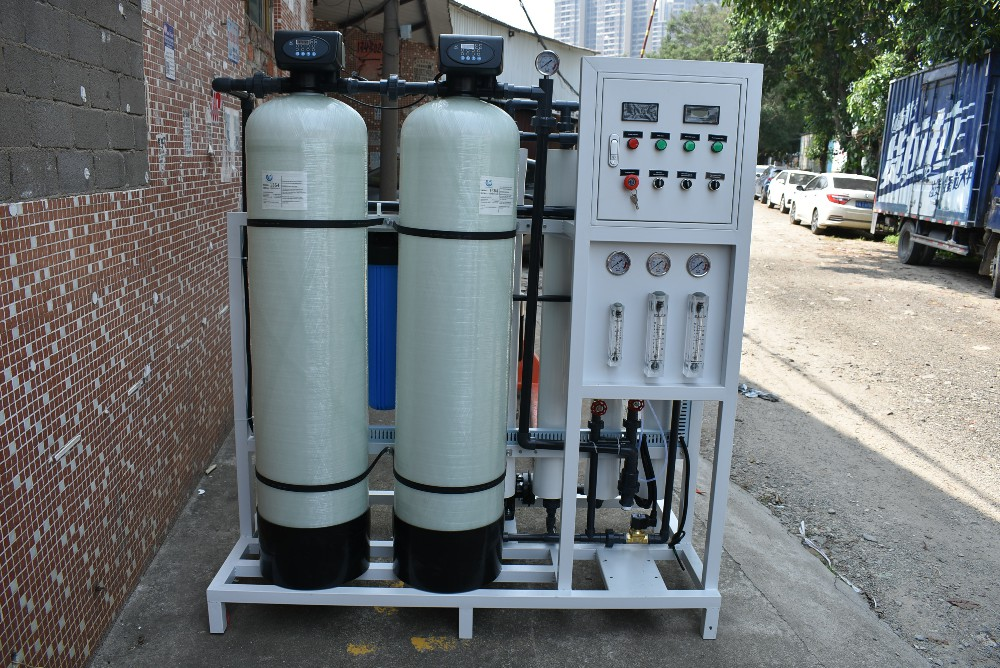 product-Ocpuritech-1000LPH ro water treatment plant filter water machine-img