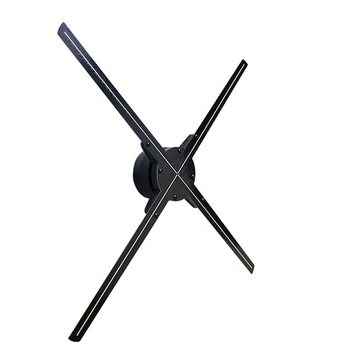 Holographic Advertising 65cm LED Display 3D Hologram Fan with Bluetooth