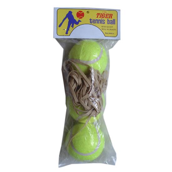 pelota de tenis wholesale good quality cricket tennis ball elastic string custom OEM brand tennis ball for sale