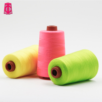 Good quality factory directly polyester sewing thread 40/2 5000 yard dacron