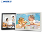 15.4 inch Lcd Digital Photo Frame Cheap Bulk Wholesale Slim Picture Mp3 Mp4 Video Loop Player Multifunction