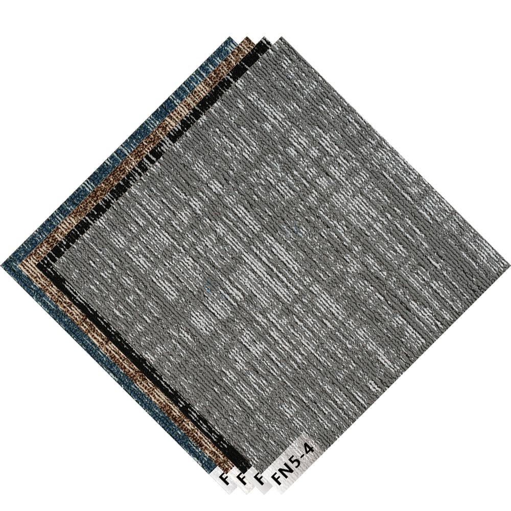 Pvc Bitumen Backed Carpet Tiles Nylon Polypropylene Removable Bottom Office Carpet