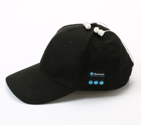 Unisex Wireless bluetooth cap 100% cotton outdoor sports baseball hats