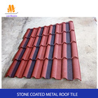 Villa building material cheap stone coated metal roof tile With Stainless Steel