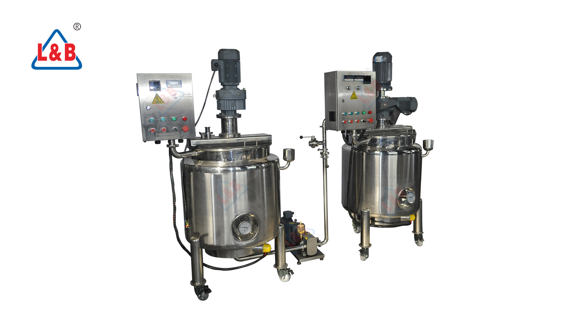 Food Grade Stainless Steel  Almond Milk/Peanut Butter Processing Making and mixer machine