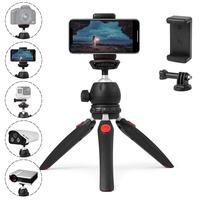 Portable table compact mini tripod for camera phone with ball head