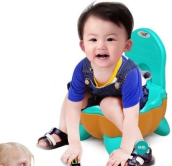 new pp OEM round colorful baby toilet seat for kids