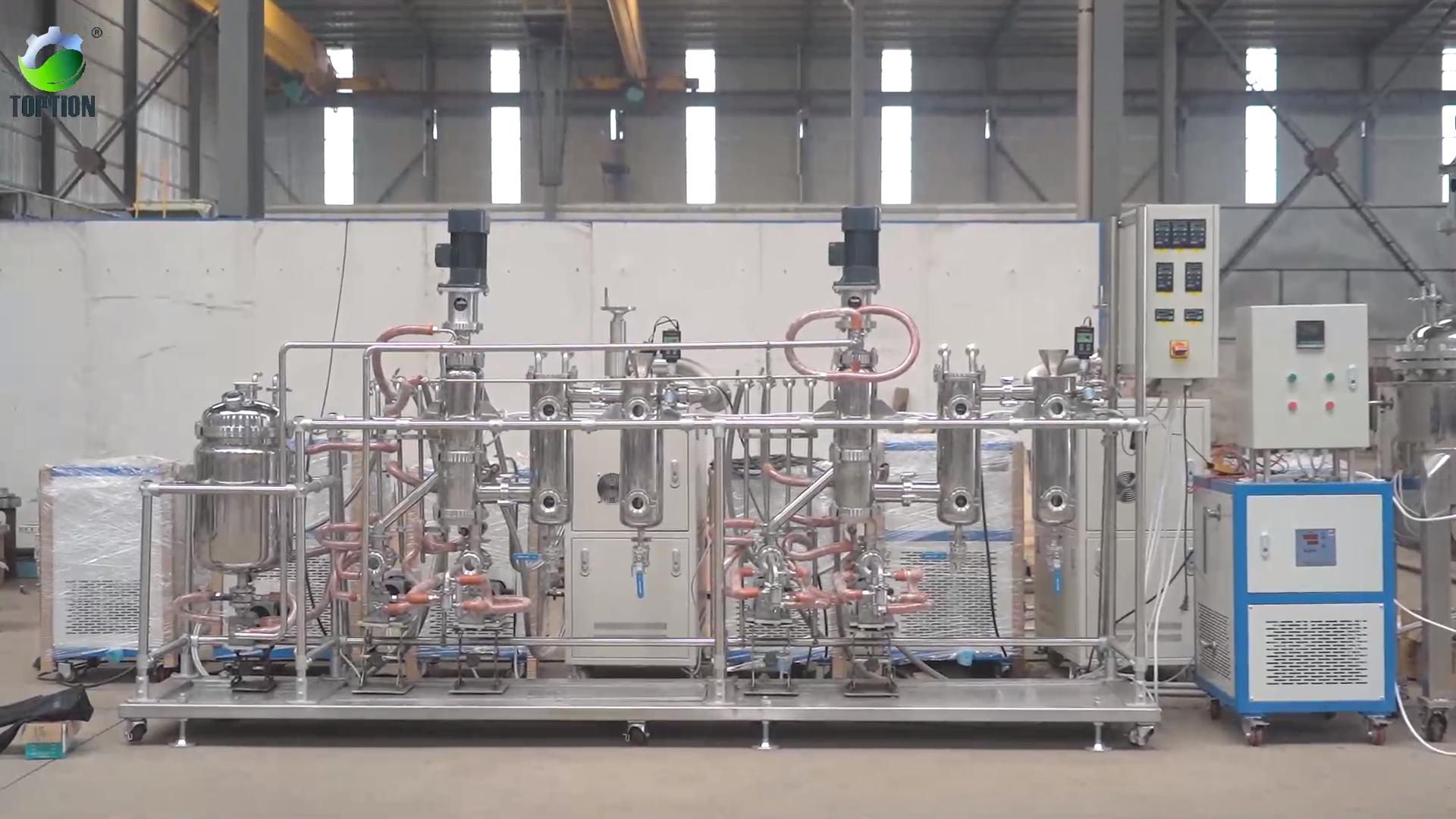उच्च कुशल गर्मी संवेदनशील स्टेनलेस स्टील सन तेल निष्कर्षण मशीन