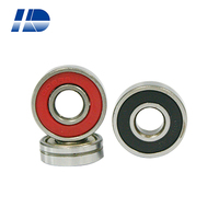 High precision 608zz deep groove ball bearing with extended inner ring