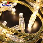 230V LED String lights PVC Cable Christmas Event Party Decoration lighting for Holiday