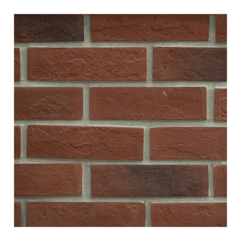 Thin white grey red exterior tiles artificial cement brick wall cover