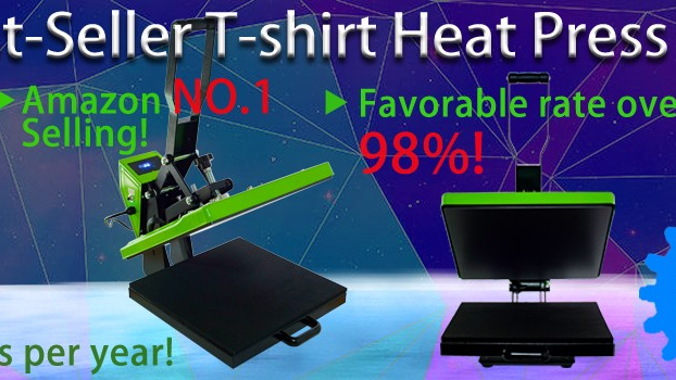 Best 15X15 Heat Transfer Logo Machine for viyl Dye Sublimation t shirts Clothing CE Machine Heat Machine Press