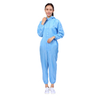 Suit Work Uniforms Coverall Suit Cleanroom Antistatic Coverall Suit Work Clothes ESD Coverall Uniforms