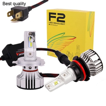 super bright auto lighting system F2 led car light bulbs kit led headlight 10000 lumen h4 led