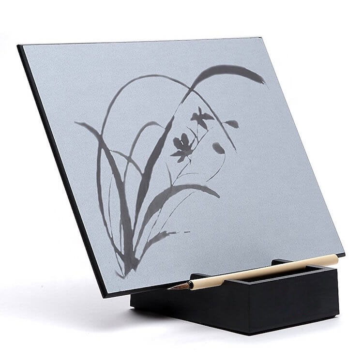 training letter images gradually fading and disappearing water drawing board A4-H18