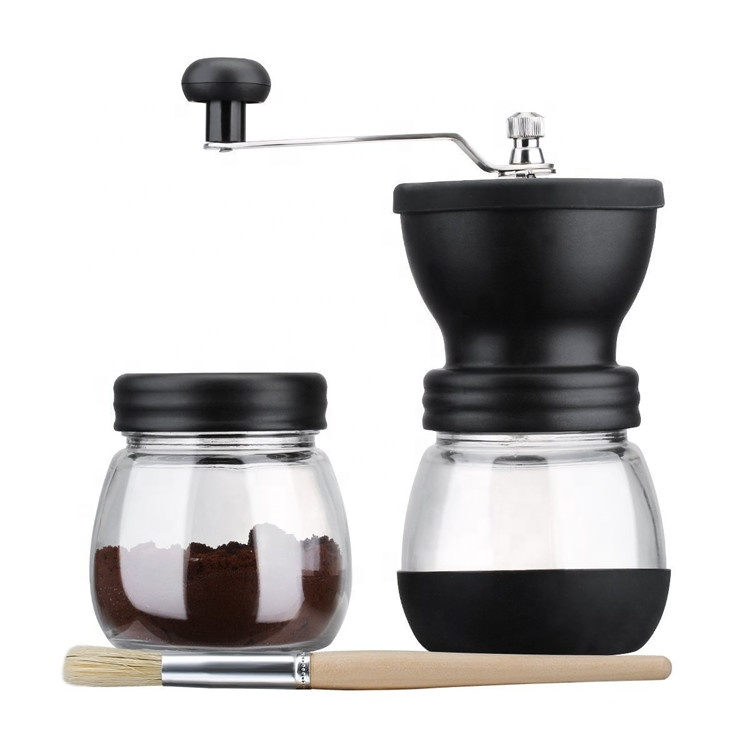 Hot Sale Making Coffee Powder Glass Grinding Mill Manual Coffee Grinder