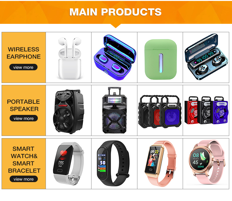 Top Selling Portable Trolley mini bluetooths speaker LED Light FM Mini Bluetooths Speakers