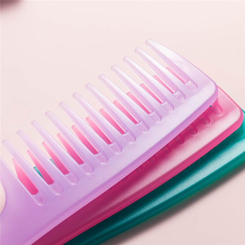 Factory direct price plastic wide tooth  hair comb