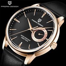2019 новые дизайнерские часы PAGANI мужские роскошные брендовые кварцевые спортивные водонепроницаемые повседневные часы с хронографом C5(Китай)
