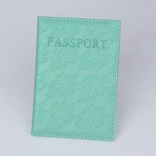 Держатель для паспорта из искусственной кожи, органайзер для путешествий из России и Испании, держатель для кредитных карт, русская Обложка...(Китай)