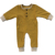 Infant baby wholesale kids ribbed cotton  harem romper button long sleeve jumper