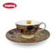 High Quality Porcelain Vintage Custom Printed Tea Cups And Saucers