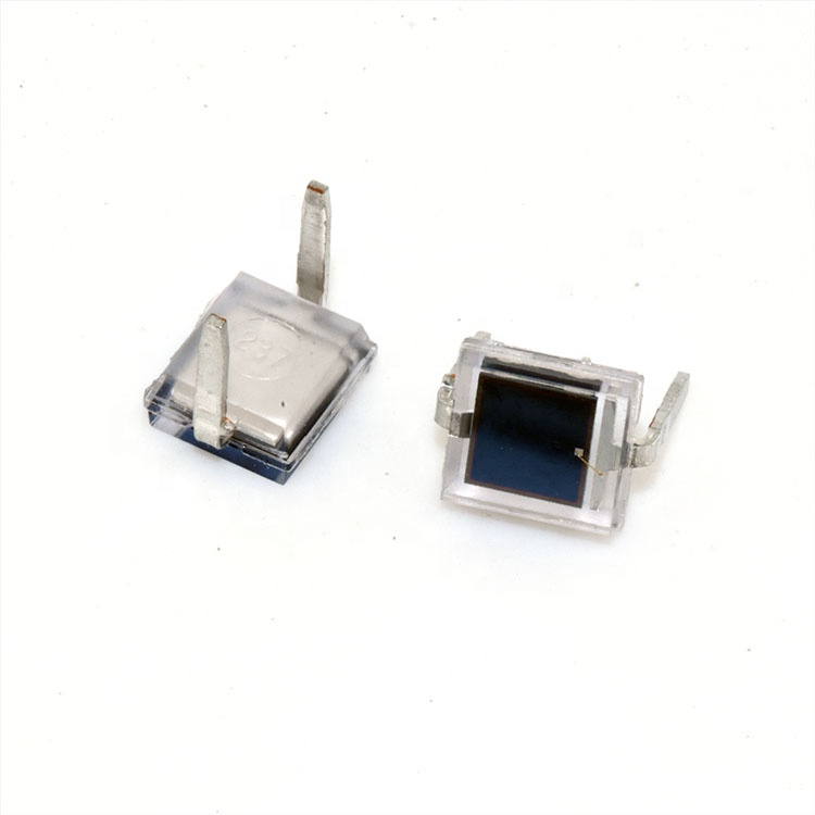 2 x BPW34S Photodiode 850 Presque comme neuf 20 NS 120 ° 2-SMD Gull Wing