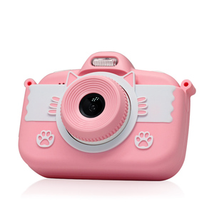 Wholesale Cheap Mini Cute Christmas Gift Set Kids Digital Video Camera With Touch Screen 3.0inch For Child Educational Toys