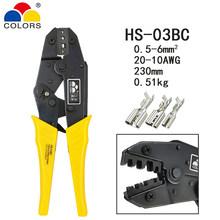 Цветные HS-30J обжимные плоскогубцы Y1B инструмент для зачистки проводов многофункциональные инструменты комплект 4 Челюсти для изоляции неиз...(Китай)
