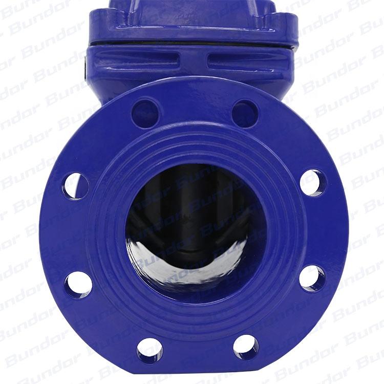 Bundor ductile iron China valve non rising stem 3-8 inch Resilient Wedge 10k 3 inch gate valve price