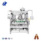 Glass Machine Glass Automatic Glass Bottle/can Rinser Filler And Capper/sealer Beer Packaging Machine