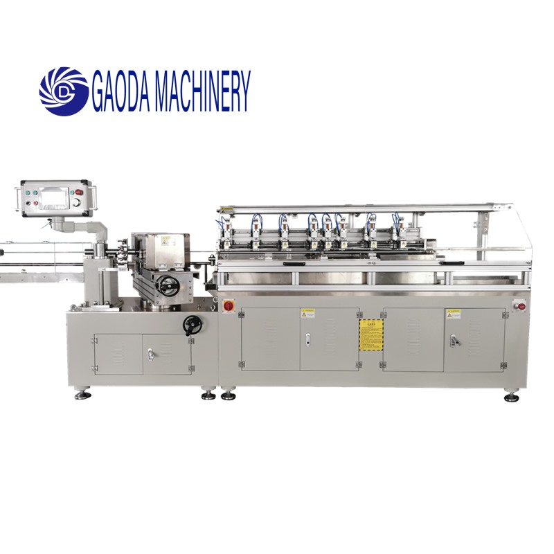 8 Cutting Knife Paper Straw Making Machine, 5 sets servo motor, Auto Paper Connecting