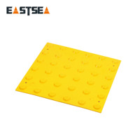 TPU and PVC warning floor paving tactile tile for disabled cable protector for floor