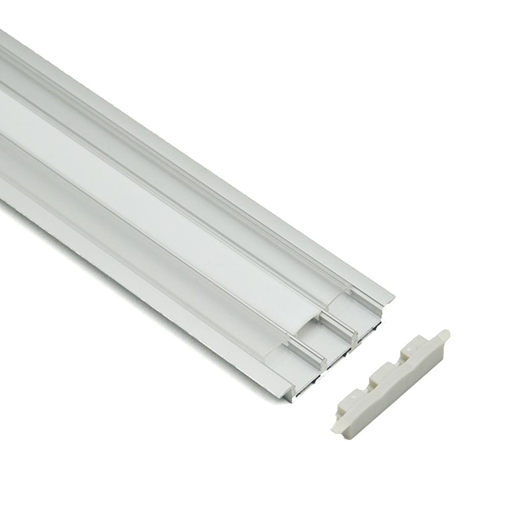aluminum extrus led profil aluminum c channel track aluminium profile for drywall