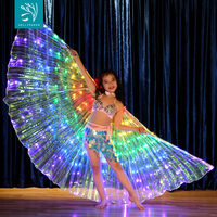 172 Leds Light Up Belly Dance Isis Wing For Kids BellyQueen