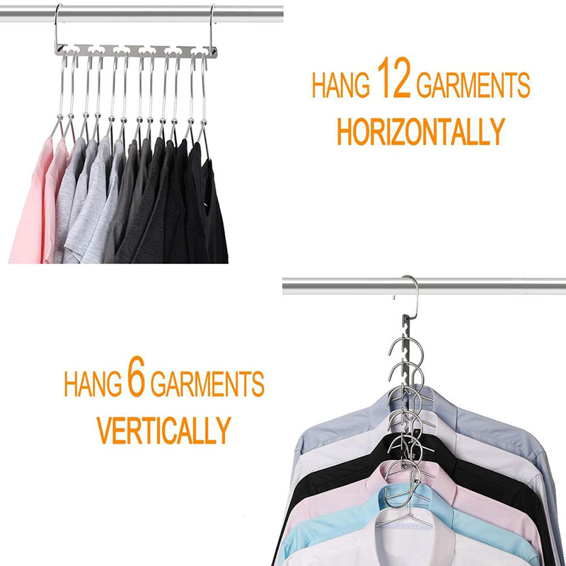 2020 New Arrival Non Slip Hooks Clothes Metal Hanger For Clothing