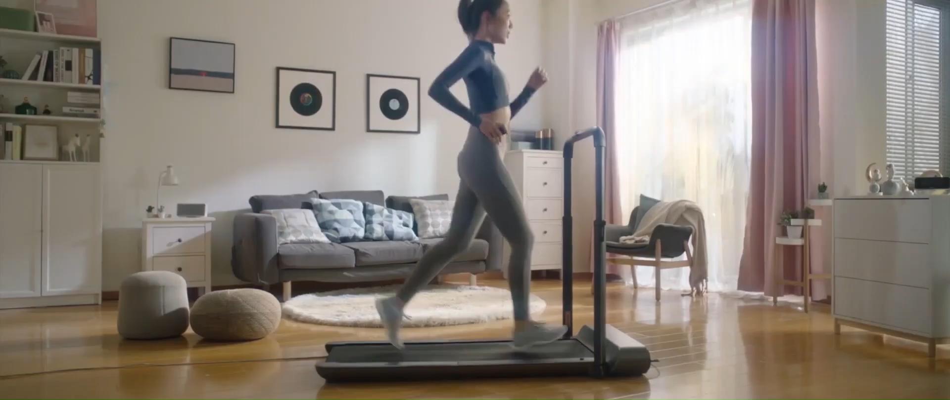 Listrik Berjalan Pad R1 Pelangsing Mini Walking Machine Lipat Ultra Tipis Rumah Treadmill