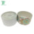 Wholesale luxury 2 pieces 50g moisturizing facial cream lotion packaging skin care tube box with round lid