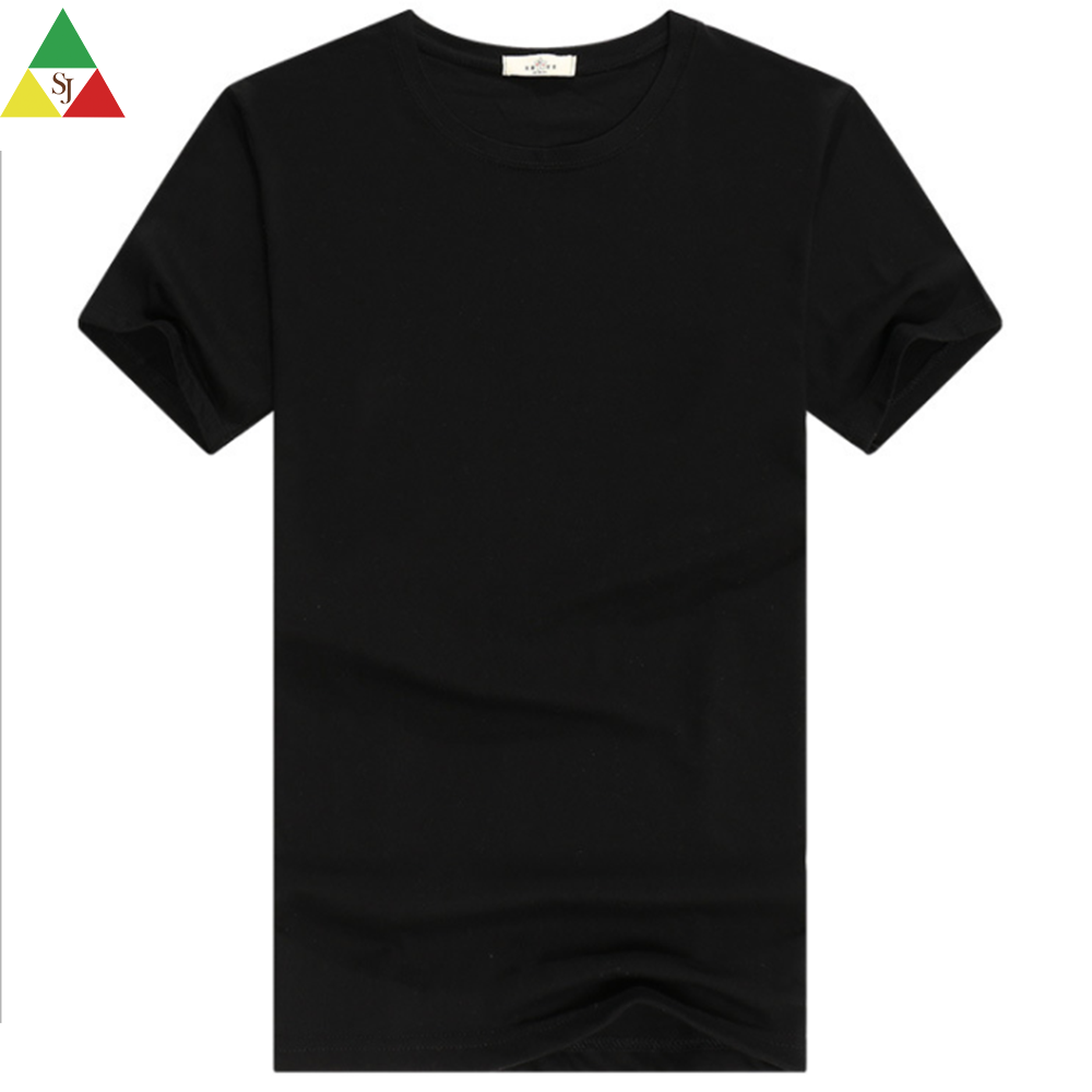 fitness round neck cotton producer short sleeve men t shirt