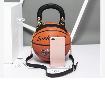 PU Leather basketball purse satchel fashion purses cross body crossbody shoulder ladies luxury bag handbags 2019 women bags