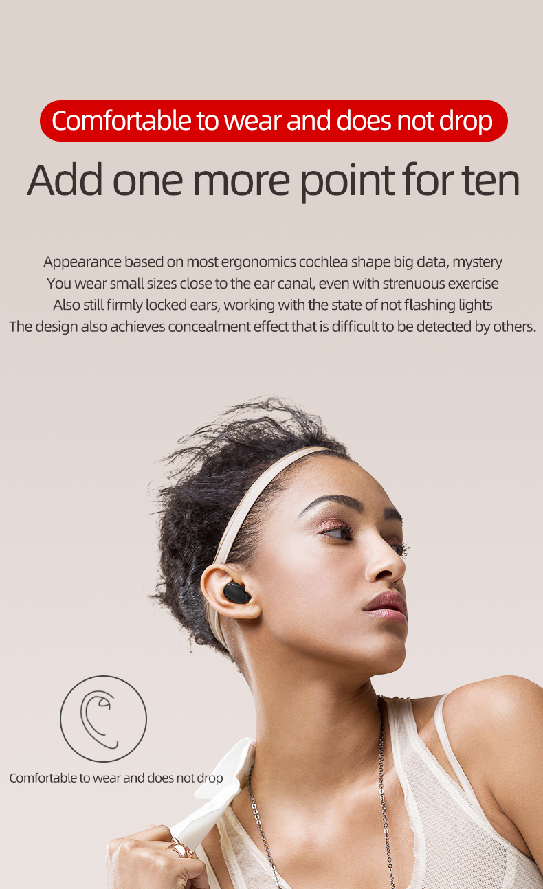 A6S Bluetooth Headsets Vs Redmi Airdots Draadloze Oordopjes 5.0 Tws Oortelefoon Noise Cancelling Microfoon Voor Iphone Xiaomi Huawei Samsung