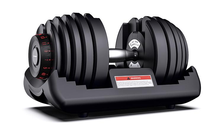 Custom logo 24kg Weight Lifting Training Fitness Equipment Adjustable Dumbbell