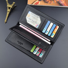 Wallet Mens Wallet Wholesale Fashion Black Mens Money Clip Leather Wallet
