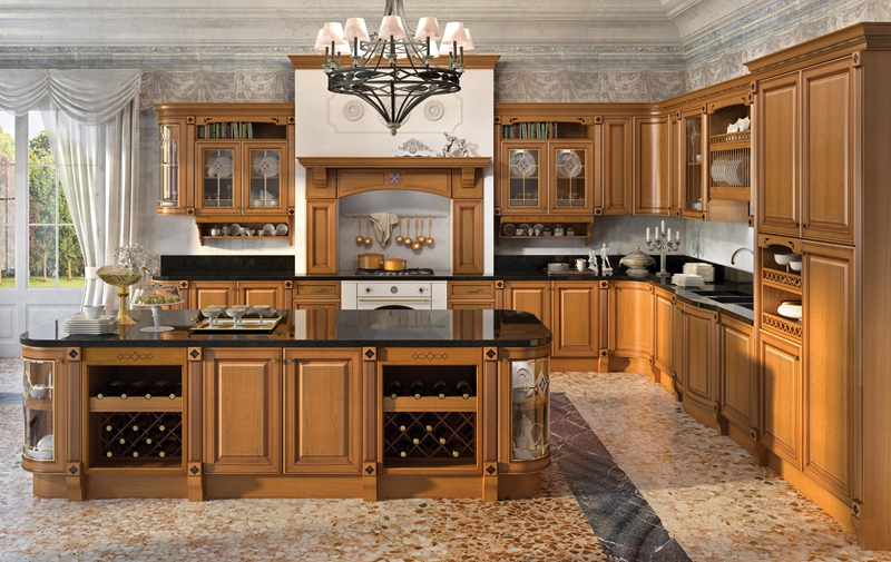 New Professional Designs Custom Modern Kitchen Cabinets solid wood kitchen cabinet doors Manufacturer direct sale